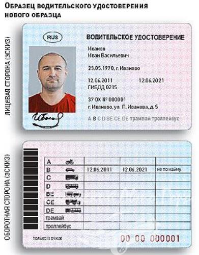 С 1 марта 2011 года во всех отделениях ГИБДД начнут выдавать права